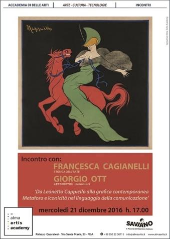 Da Leonetto Cappiello alla grafica contemporanea: metafora e iconicità nel linguaggio della comunicazione
