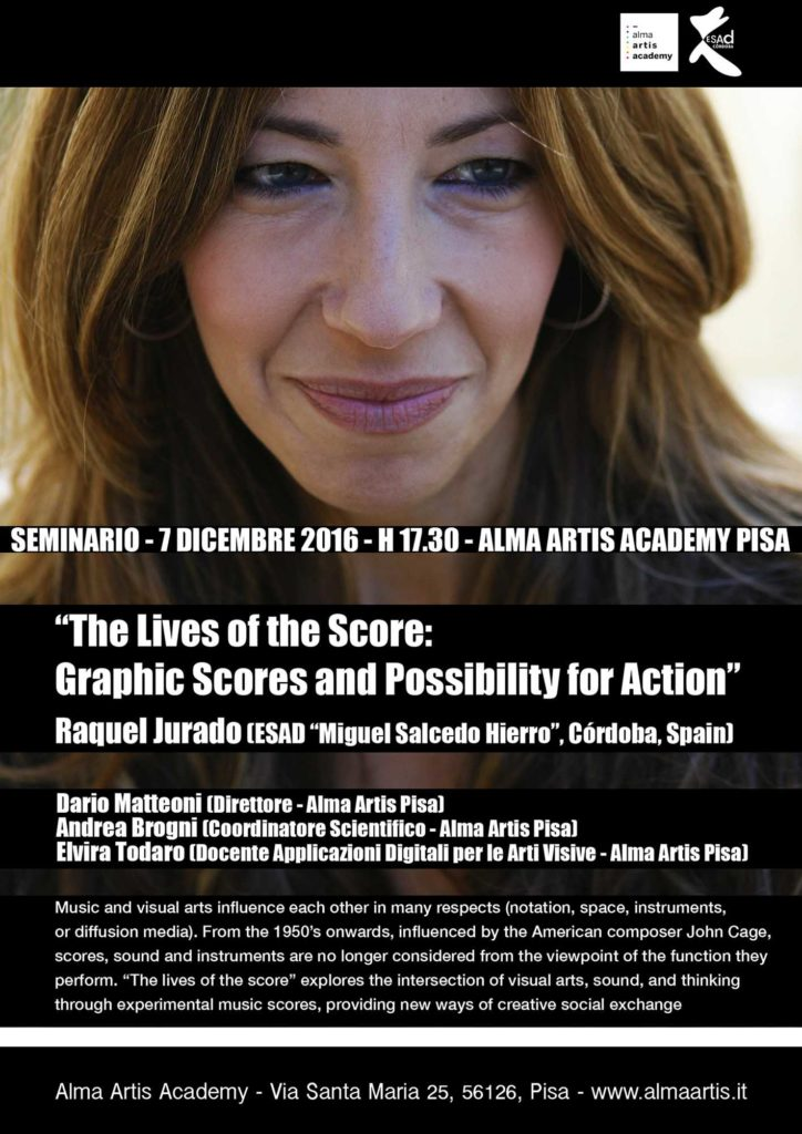 The lives of the score: graphic scores and possibility for action