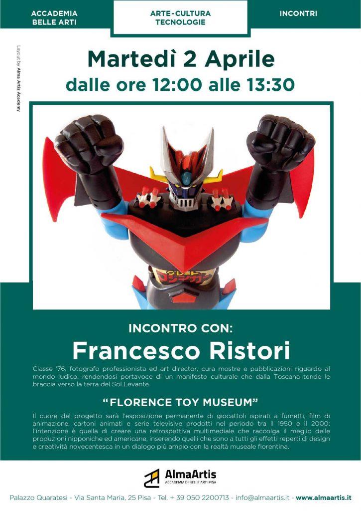 Francesco Ristori talk in accademia