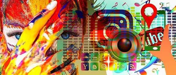 social media mix