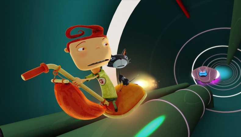 animazione dal robanimazione - fuga dal robotot