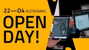 Open day in streaming 22aprile